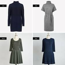 the best sweater dresses for your body type verily