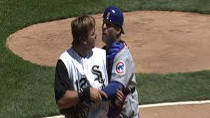 cubs white sox brawl after home plate collision