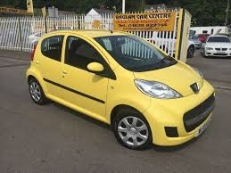 peugeot 107 1 0 12v urban 5dr yellow 2010 in baglan neath