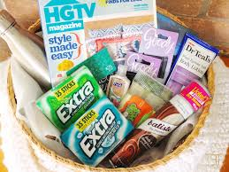 How To Make Gift Baskets Ultimate New Mom Gift Basket Diy U2014 Elle Talk Houston Texas Food