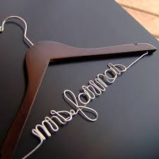 personalized wedding hangers custom wedding hangers wedding dress hanger and personalized