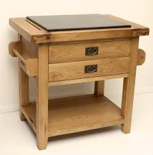 50 off rustic oak kitchen island with granite top small