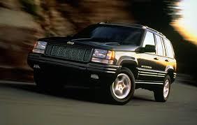 first jeep grand cherokee jeep heritage 1995 1998 jeep grand cherokee zj the jeep blog