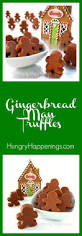 gingerbread man truffles fun christmas treats and crafts