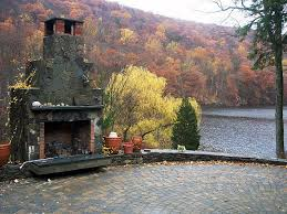 Outdoor Fireplace Designs - outdoor fireplace design ny state d u0026d tree and landscape