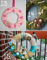 15 spring wreath ideas the scrap shoppe
