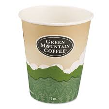 eco friendly paper cups by green mountain coffee gmt93766