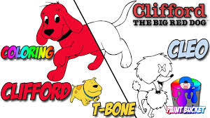 clifford the big red dog coloring pages pbs kids clifford