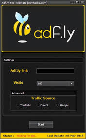 adfly apk bot adf ly ultimate with proxy 2016 tools hack bot earn
