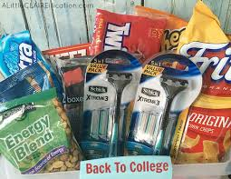 College Care Package A Back To College Care Package And Stop Taking My Razor A