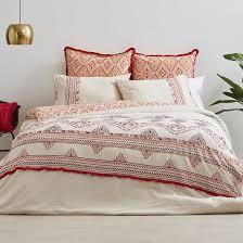 esra cotton quilt cover set temple u0026 webster