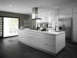 modern kitchen white appliances kitchen inspiration high gloss white kitchen works well in both