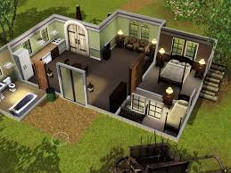 home design and style sims 2 small house ideas