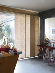 Sliding Panels For Patio Door Captivating Shades For Sliding Doors Inspiration With Blinds