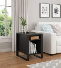 Living Room Accent Tables Ameriwood Furniture Reese Accent Table Black Oak