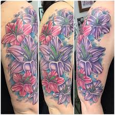100 beautiful lily tattoos and meanings 2017 collection