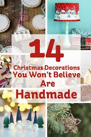 72 best homemade christmas decorations images on pinterest
