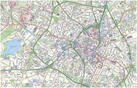 city map birmingham city map birmingham uk mappery