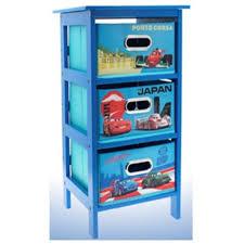 disney cars 2 storage cabinet 3 drawer bedroom toys cloths kids