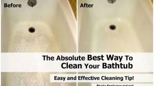 Best Way To Clean Bathtub Scum Amazing Best 10 Tub Cleaner Ideas On Pinterest Shower Cleaning