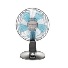 table fan with remote rowenta turbo silence 12 in 4 speed desk fan vu2531u2 the home depot