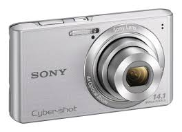 amazon com sony cyber shot dscw610 14 1 mp digital camera with