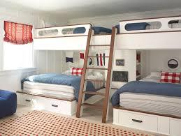 Full Over Full Bunk Bed Plans Kids Beach Style With Bronze - Full over full bunk bed plans