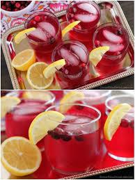 sparkling cranberry punch dessert now dinner later