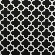Black And White Polka Dot Curtains 100 Heavy Cotton Panama Printed Childrens Curtain Cushion