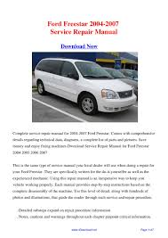 28 2004 ford freestar owners manual 112591 ford freestar