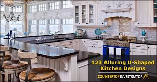 U Shape Kitchen Design 123 Breathtaking U Shaped Kitchen Designs
