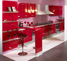 Popular Gloss White KitchenBuy Cheap Gloss White Kitchen Lots - Red lacquer kitchen cabinets