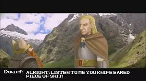 Listen Here You Little Shit Meme - listen to me you knife eared piece of shit youtube