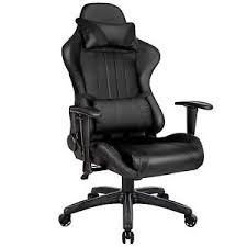 siege baquet reglable chaise fauteuil siège de bureau racing sport tissu baquet voiture