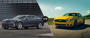 ford mustang chevy camaro 2016 chevy camaro vs 2016 ford mustang