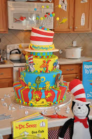 dr seuss cake ideas dr seuss birthday party ideas photo 24 of 87 catch my party