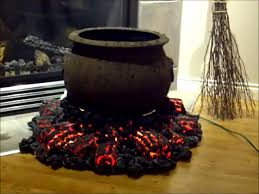 halloween cauldron and fire pit start of first project for