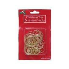 home accents 2 in gold ornament hooks set 30 pack