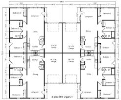 multi family house plans home design ideas