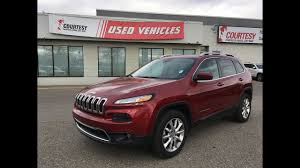 dodge jeep 2014 2014 jeep cherokee limited deep cherry red crystal pearl