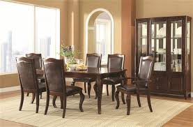 coaster dining room sets 5 piece dining table set in espresso finish by coaster 104841