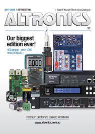 8877 Lifier Schematic Diagram Altronics 2017 18 Electronics Catalogue By Altronicsau Issuu
