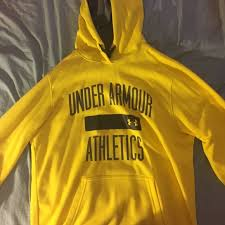 50 off under armour outerwear bright yellow under armour hoodie
