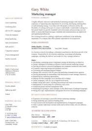 Resume Samples For Marketing Professionals by Entry Level Marketing Resume Objective Learn More About Video