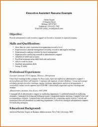 Resume Examples Administration Jobs by Administrative Resume Example Cv Examples Administration Jobs Sle