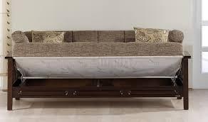 Sofa Wood Frame Microfiber Living Room W Wooden Frame U0026 Sleeper Sofa
