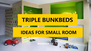 three bunk beds 35 best triple bunk beds designs ideas for small room 2017 youtube