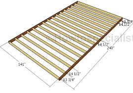 12x20 shed plans free howtospecialist how to build step by