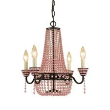 Pink Chandelier Light Buy Pink Chandelier Light From Bed Bath U0026 Beyond