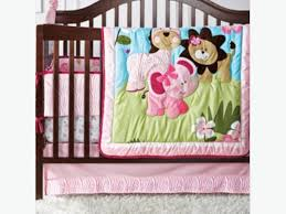 baby girls safari crib bedding west shore langford colwood